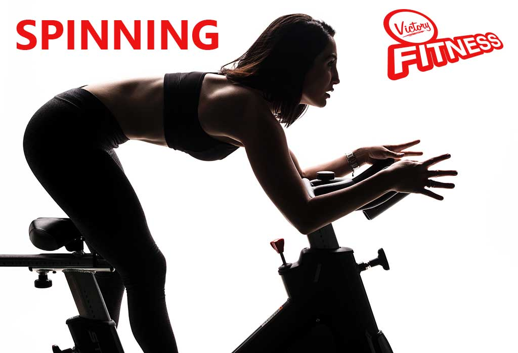 Spinning a Victory Fitness Asia Center-ben!