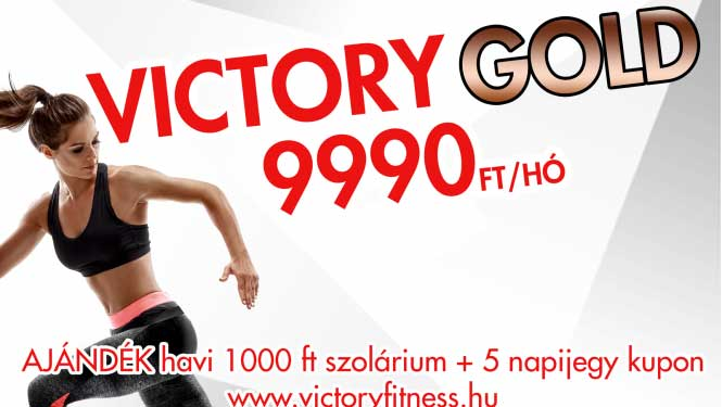 Válts Victory Gold-ra!