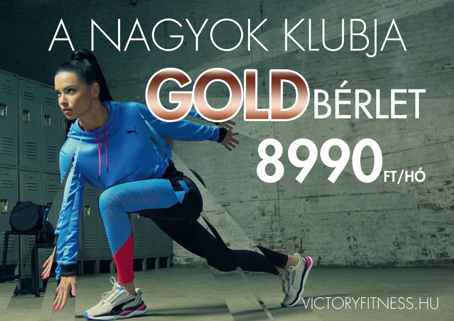 Gold bérlet 8990